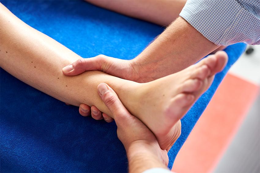 Enkelklachten sportfysiotherapie