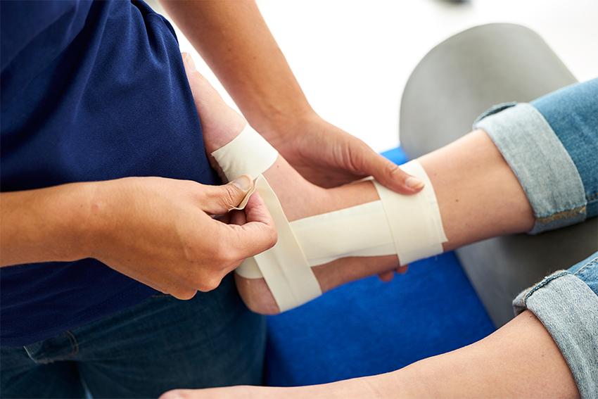 Medical taping - Sportfysiotherapie